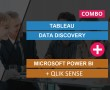 TABLEAU DATA DISCOVERY + MICROSOFT POWER BI + QLIK SENSE DATA DISCOVERY