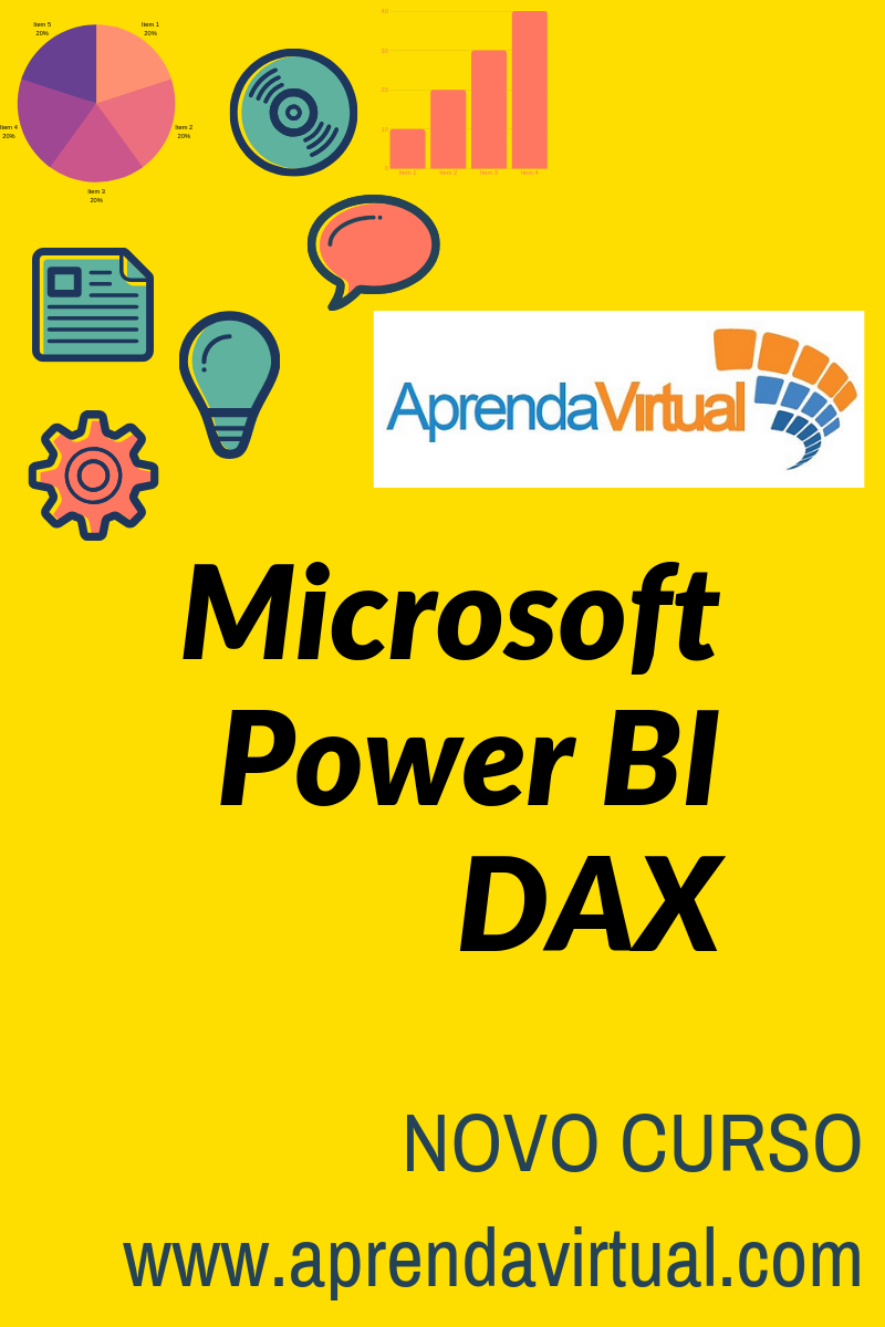 NOVO CURSO NA APRENDA VIRTUAL – POWER BI DAX
